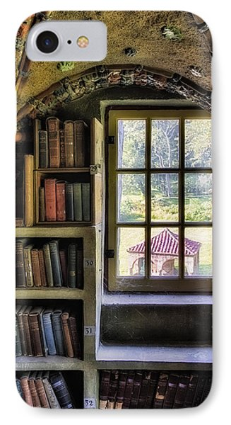 A View From The Study Phone Case by Susan Candelario
