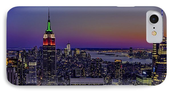 A View From The Top IPhone Case by Susan Candelario