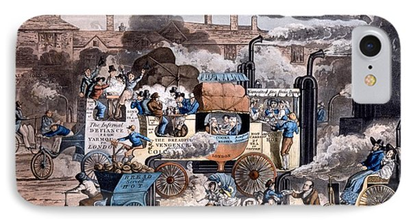 A View In White Chapel Road 1830 IPhone Case