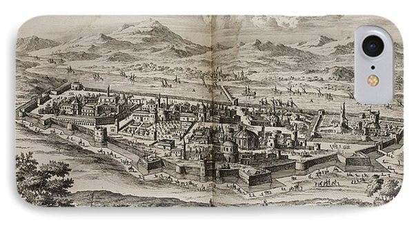 A View Of Baghdad In The 17th Century IPhone Case by British Library
