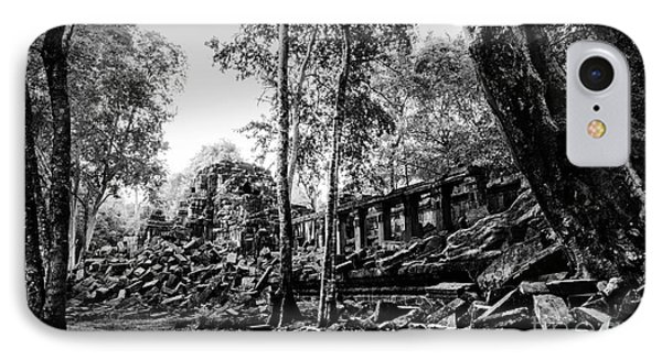 A View Of Beng Mealea IPhone Case by Julian Cook