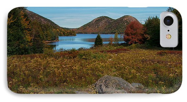 A View Of Jordan Pond IPhone Case