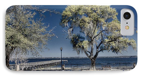 A View Of Lake Minneola IPhone Case