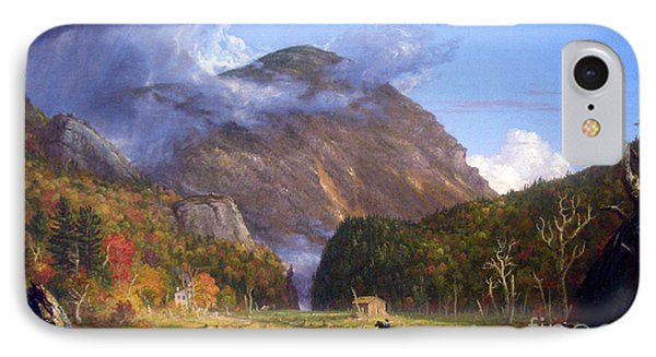 A View Of The Mountain Pass Called The Notch Of The White Mountans By Thomas Cole IPhone Case