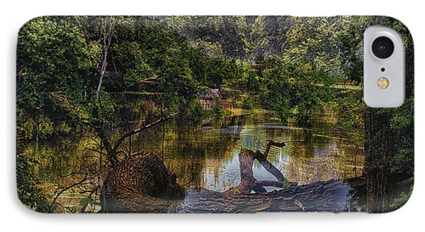 A View Of The Nature Center Merged Image IPhone Case by Thomas Woolworth