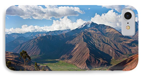 A View Of The Sacred Valley And Andes IPhone Case