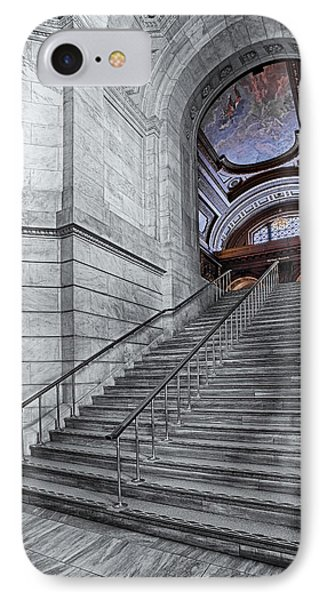 A View To The Mcgraw Rotunda Nypl IPhone Case