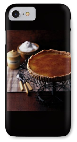 A Vinegar Pie On A Wire Stand IPhone Case by Romulo Yanes