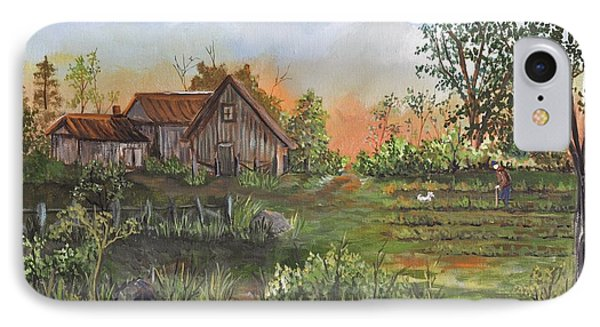 A Walk In The Garden Phone Case by Reb Frost
