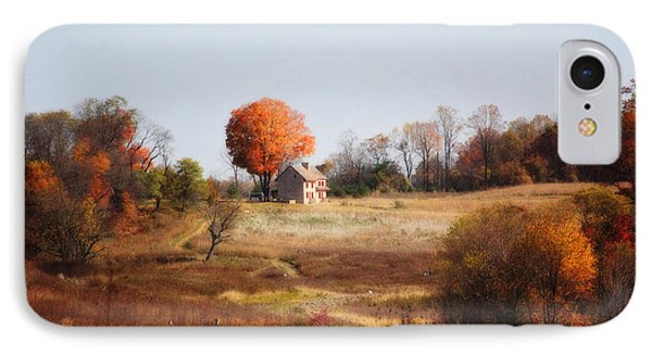 A Walk In The Meadow IPhone Case by Trina  Ansel
