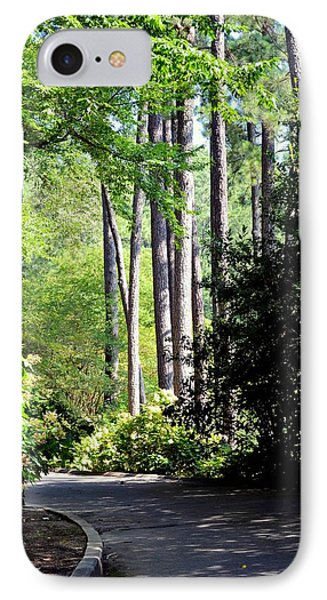 A Walk In The Shade IPhone Case by Maria Urso