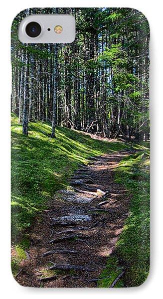A Walk In The Woods IPhone Case by John Haldane