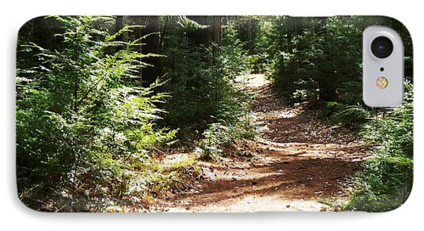 IPhone Case featuring the photograph A Walk In The Woods by Joy Nichols