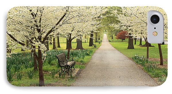 A Walk In Tower Grove IPhone Case