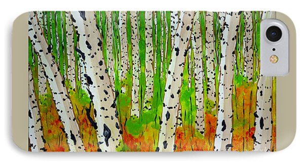 A Walk Though The Trees IPhone Case by Jackie Carpenter