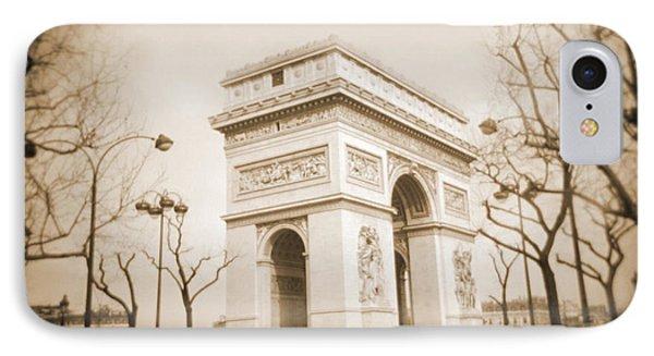 A Walk Through Paris 2 IPhone Case by Mike McGlothlen