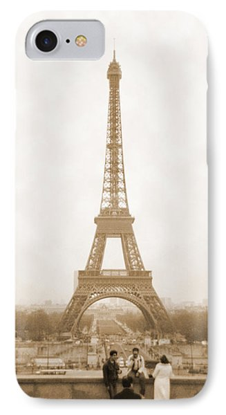 Paris iPhone 7 Case - A Walk Through Paris 5 by Mike McGlothlen