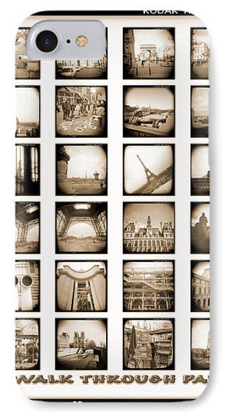 A Walk Through Paris IPhone Case by Mike McGlothlen