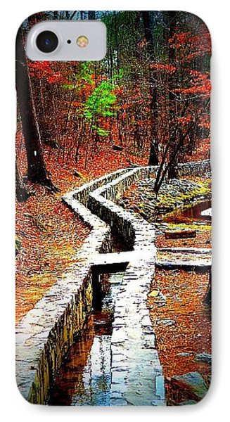 IPhone Case featuring the photograph A Walk Through The Woods by Tara Potts
