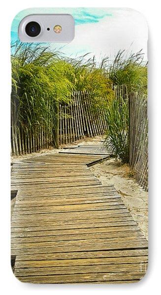 A Walk To The Beach IPhone Case