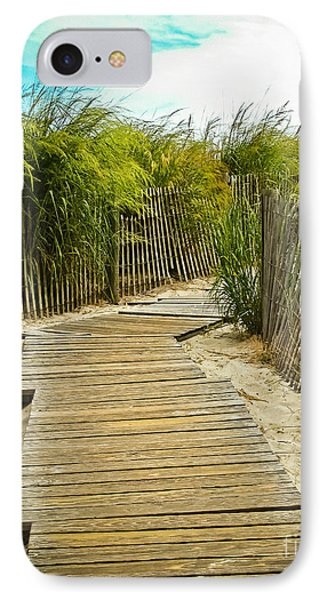 A Walk To The Beach IPhone Case by Colleen Kammerer