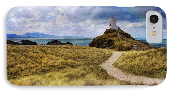 A Walk To The Lighthouse Phone Case by Ian Mitchell