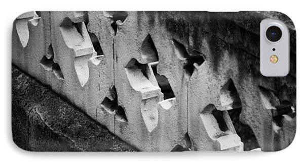 A Wall Between Gardens Phone Case by Christi Kraft