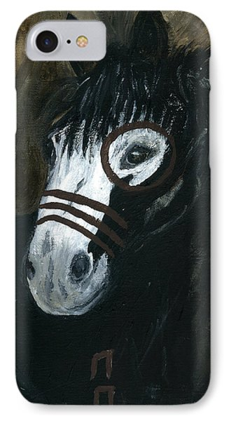 IPhone Case featuring the painting A War Pony by Barbie Batson