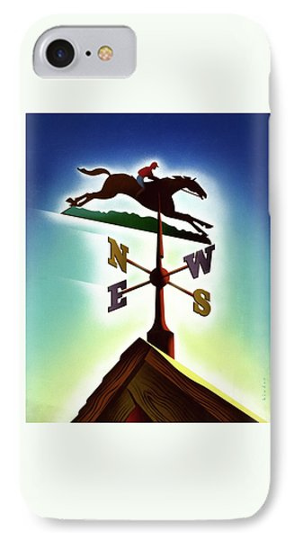 A Weather Vane IPhone Case by Joseph Binder