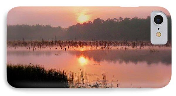 A Wetlands Sunrise IPhone Case