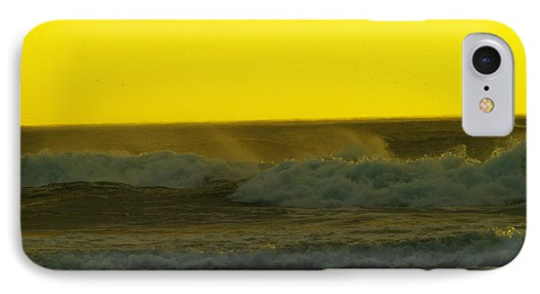 A Whisp Of Wind On The Waves IPhone Case by Jeff Swan