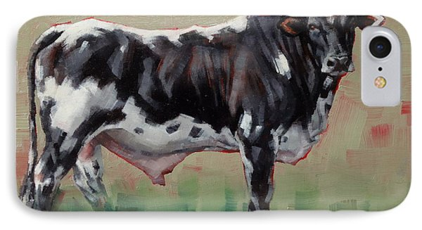 A Whole Lotta' Bull IPhone Case by Margaret Stockdale
