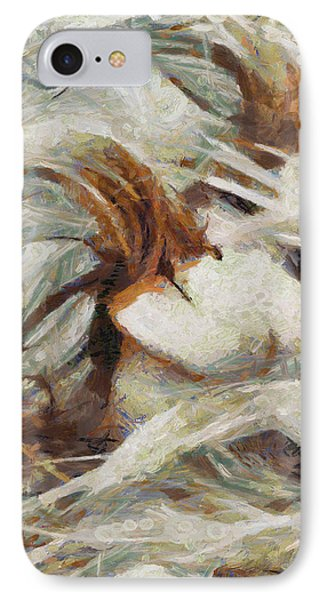 IPhone Case featuring the painting A Wild Dance by Joe Misrasi