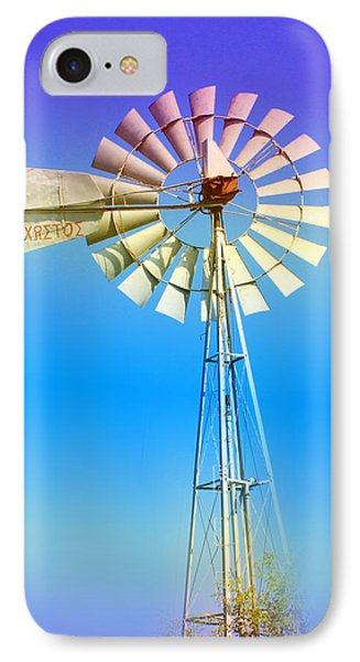 Famagusta Windmill IPhone Case by Augusta Stylianou