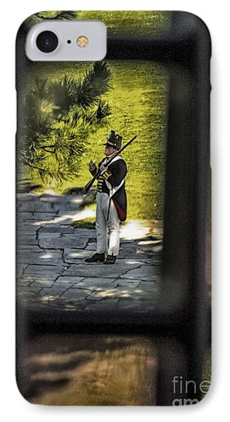 A Window Back In Time IPhone Case by Jim Lepard