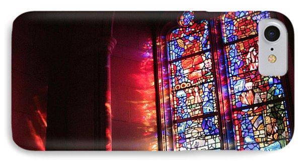 A Window In A Church IPhone Case by Cora Wandel