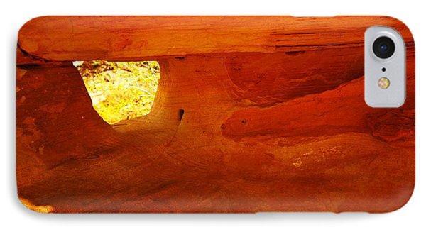 A Window In The Rock Phone Case by Jeff Swan