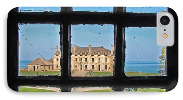 IPhone Case featuring the photograph A Window To The Past by Kathleen Scanlan