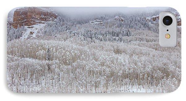 A Winter Cabin IPhone Case by Darren  White