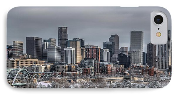 A Winter In Denver IPhone Case by Ryan Harter