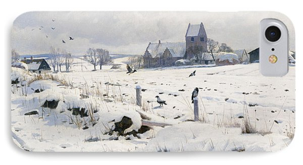 A Winter Landscape Holmstrup IPhone Case
