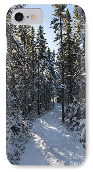 A Winter Poem.. Phone Case by Nina Stavlund