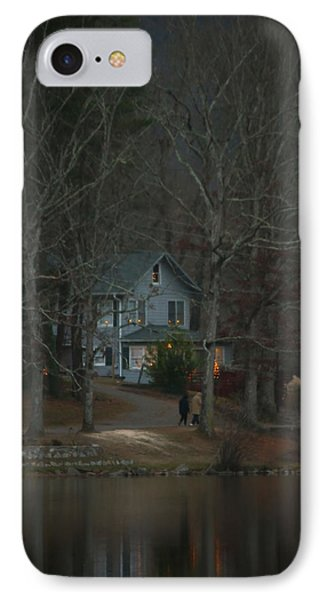 IPhone Case featuring the photograph A Winter Walk by Tammy Schneider