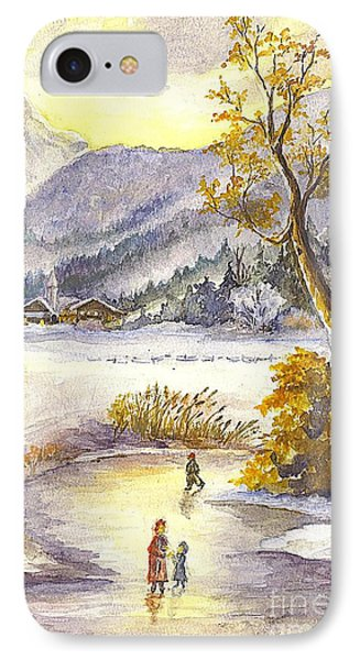 A Winter Wonderland Part 2 IPhone Case by Carol Wisniewski