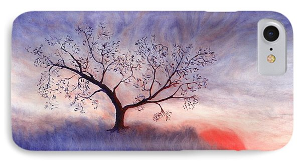 A Wintering Tree IPhone Case