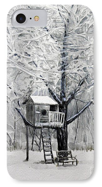 A Winter's Morn IPhone Case by Terry Honstead