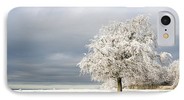 A Winter's Morning Phone Case by Anne Gilbert