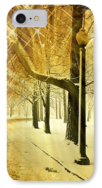 A Winter's Night Phone Case by Marty Koch