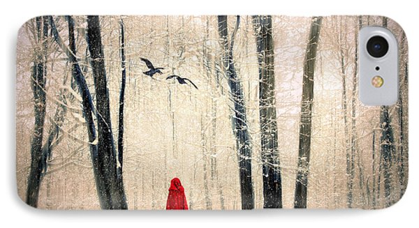 A Winters Tale IPhone Case by Jessica Jenney