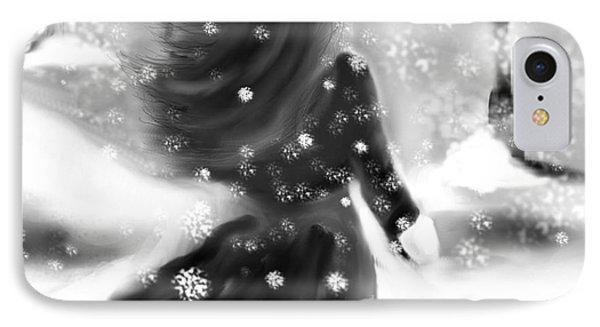 A Winters Walk IPhone Case by Lori  Lovetere